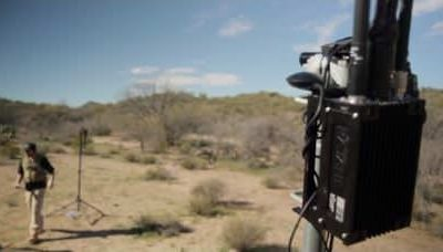 Rajant Linear Mesh Demo: Low Latency Data, Video, and Tactical Voice Traffic in Desert Environment